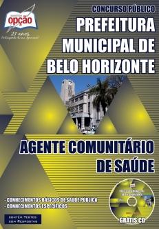 Prefeitura Municipal de Belo Horizonte / MG-AGENTE COMUNITÁRIO DE SAÚDE