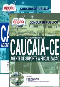 Prefeitura Municipal de Caucaia  / CE-PROFESSOR EDUCAÇÃO BÁSICA-GUARDA MUNICIPAL-AGENTE MUNICIPAL DE TRÂNSITO-AGENTE DE SUPORTE A FISCALIZAÇÃO