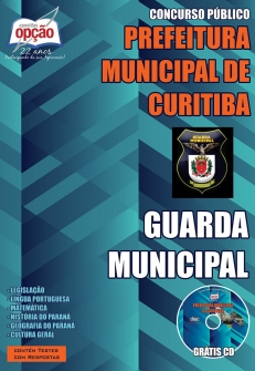 Prefeitura Municipal de Curitiba / PR-GUARDA MUNICIPAL