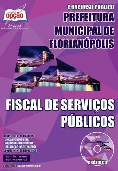 Prefeitura Municipal de Florianópolis-FISCAL DE SERVIÇOS PÚBLICOS