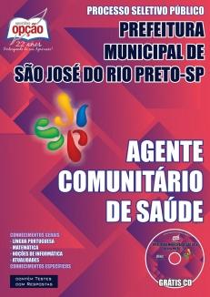 Prefeitura Municipal de São José do Rio Preto / SP-AGENTE COMUNITÁRIO DE SAÚDE