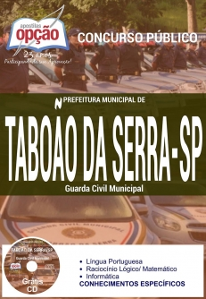 Prefeitura Municipal de Taboão da Serra / SP-GUARDA CIVIL MUNICIPAL