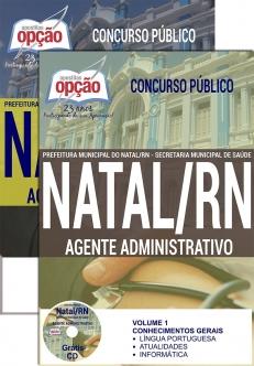 Prefeitura Municipal do Natal / RN-TÉCNICO DE ENFERMAGEM-COMUM AOS CARGOS DE NÍVEL MÉDIO E SUPERIOR-AGENTE ADMINISTRATIVO