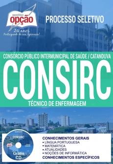 Processo Seletivo CONSIRC 2017-TÉCNICO DE ENFERMAGEM