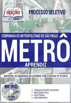 Processo Seletivo METRÔ SP 2018-APRENDIZ