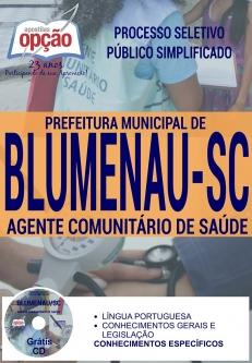 Processo Seletivo Prefeitura Blumenau SC 2016-AGENTE COMUNITÁRIO DE SAÚDE
