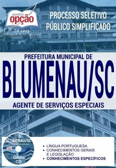 Processo Seletivo Prefeitura de Blumenau 2017-MOTORISTA - TODAS AS CATEGORIAS-EDUCADOR SOCIAL - MASCULINO E FEMININO-AGENTE DE SERVIÇOS ESPECIAIS