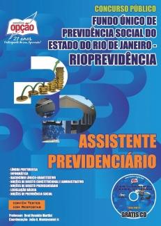 RioPrevidência-ASSISTENTE PREVIDENCIÁRIO