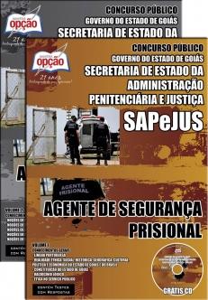 SAPeJUS / Goiás-AGENTE DE SEGURANÇA PRISIONAL