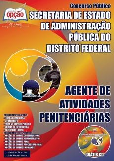 SEAP / DF-AGENTE DE ATIVIDADES PENITENCIÁRIAS