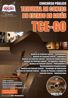 Tribunal de Contas do Estado / GO-DIVERSOS CARGOS-ANALISTA DE CONTROLE EXTERNO – JURÍDICA