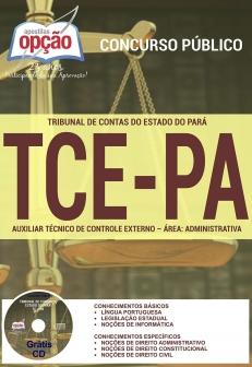 Tribunal de Contas do Estado / PA (TCE/PA)-AUXILIAR TÉCNICO DO CONTROLE EXTERNO - ADMINISTRATIVO
