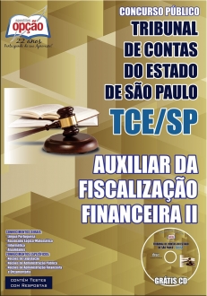Tribunal de Contas do Estado / SP (TCE/SP)-AUXILIAR DA FISCALIZAÇÃO FINANCEIRA  II