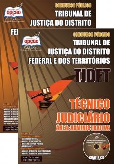 Tribunal de Justiça do Distrito Federal e dos Territórios (TJDFT)-TÉCNICO JUDICIÁRIO – ÁREA: ADMINISTRATIVA