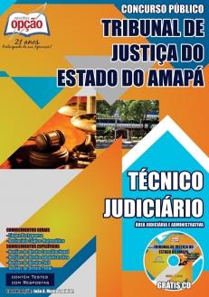 Tribunal de Justiça do Estado / AP-TÉCNICO JUDICIÁRIO – ÁREA JUDICIÁRIA E ADMINISTRATIVA-ANALISTA – ÁREA JUDICIÁRIA E ADM E ESP EXECUÇÃO DE MANDADOS