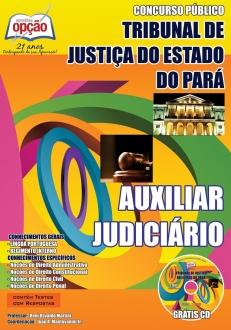 Tribunal de Justiça do Estado / PA-AUXILIAR JUDICIÁRIO