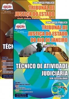 Tribunal de Justiça do Estado / RJ-TÉCNICO DE ATIVIDADE JUDICIÁRIA SEM ESPECIALIDADE