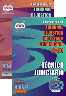 Tribunal de Justiça do Estado / RO (TJ/RO)-TÉCNICO JUDICIÁRIO