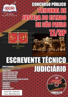 Tribunal de Justiça do Estado / SP-ESCREVENTE TÉCNICO JUDICIÁRIO