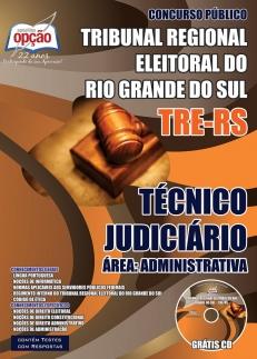 Tribunal Regional Eleitoral / RS (TRE/RS)-TÉCNICO JUDICIÁRIO - ÁREA ADMINISTRATIVA