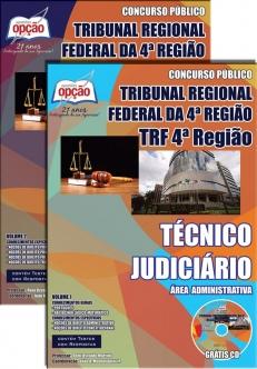 Tribunal Regional Federal da 4ª Região-TÉCNICO JUDICIÁRIO – ÁREA ADMINISTRATIVA