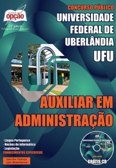 Universidade Federal de Uberlândia (UFU)-AUXILIAR EM ADMINISTRAÇÃO-ASSISTENTE EM ADMINISTRAÇÃO