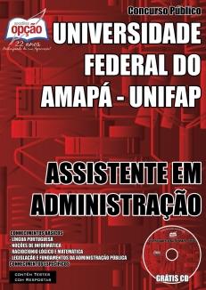 Universidade Federal do Amapá (UNIFAP)-ASSISTENTE EM ADMINISTRAÇÃO