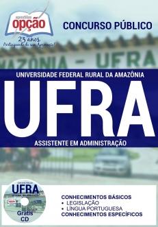 Universidade Federal Rural da Amazônia (UFRA)-ASSISTENTE EM ADMINISTRAÇÃO