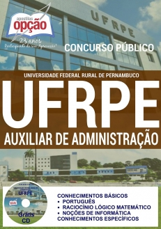 Universidade Federal Rural de Pernambuco (UFRPE)-AUXILIAR EM ADMINISTRAÇÃO-ASSISTENTE EM ADMINISTRAÇÃO