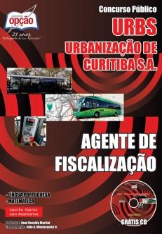 URBS – Urbanização de Curitiba S.A.-AGENTE DE FISCALIZAÇÃO