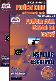 Policia Civil / CE-INSPETOR / ESCRIVÃO
