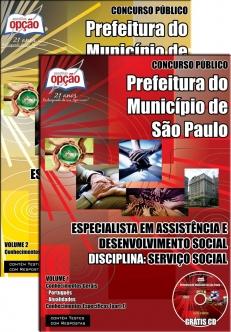 Prefeitura do Município de São Paulo-ESP. E ASSISTÊNCIA E DESENVOLVIMENTO SOCIAL: SERVIÇO SOCIAL
