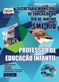 Secretária Municipal de Educação do Rio de Janeiro (SME-RIO)-PROFESSOR DE EDUCAÇÃO INFANTIL