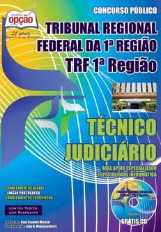 Tribunal Regional Federal da 1ª Região-TÉCNICO JUDICIÁRIO – ESPECIALIDADE INFORMÁTICA
