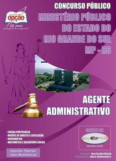 Minist�o P�o do Rio Grande do Sul-AGENTE ADMINISTRATIVO