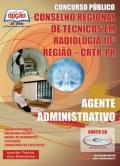 Conselho Regional de Técnicos em Radiologia 10ª Região (CRTR/PR)-AGENTE ADMINISTRATIVO