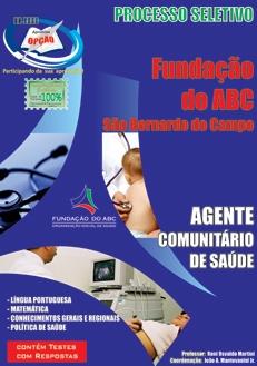 Fundação do ABC-AGENTE COMUNITÁRIO DE SAÚDE