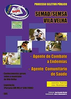 Vila Velha/ES-AGENTE COMUNITÁRIO DE SAÚDE E AGENTE DE COMBATE A EPIDEMIAS