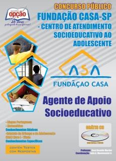 Fundação Casa-AGENTE DE APOIO SOCIOEDUCATIVO-AGENTE DE APOIO OPERACIONAL (SEXO MASCULINO)