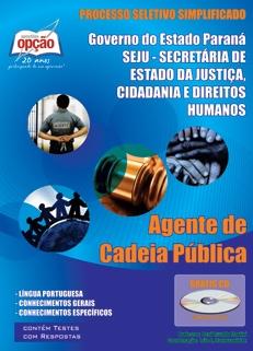 SEJU-PARANÁ-AGENTE DE CADEIA PÚBLICA