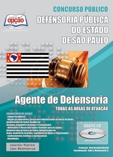 Defensoria Pública do Estado de São Paulo-AGENTE DE DEFENSORIA - COMUM A TODOS OS CARGOS
