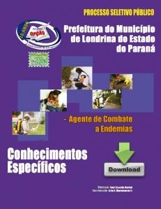Londrina/PR-AGENTE DE GESTÃO PÚBLICA - SERVIÇOS DE COMBATE ÀS ENDEMIAS