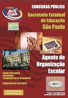 Educação-SP-AGENTE DE ORGANIZAÇÃO ESCOLAR