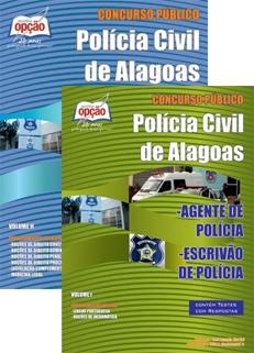 Polícia Civil de Alagoas-AGENTE DE POLÍCIA CIVIL E ESCRIVÃO DE POLÍCIA CIVIL