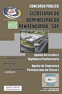 SAP/SP-AGENTE DE SEGURANÇA - AGENTE DE ESCOLTA