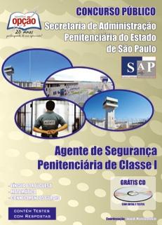 Secr. de Adm. Penitenciária - SP/SAP-AGENTE DE SEGURANÇA PENITENCIÁRIA CLASSE I
