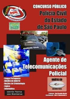 Polícia Civil/SP-AGENTE DE TELECOMUNICAÇÕES