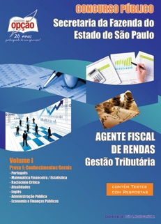 SEFAZ - Secretária da Fazenda-AGENTE FISCAL DE RENDAS - VOLUME I