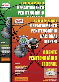 Departamento Penitenciário Nacional (DEPEN) -AGENTE PENITENCIÁRIO FEDERAL (JOGO COMPLETO)