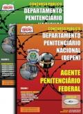 Departamento Penitenciário Nacional (DEPEN) -AGENTE PENITENCIÁRIO FEDERAL - JOGO COMPLETO